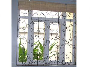 khung cửa sổ kim loại đẹp